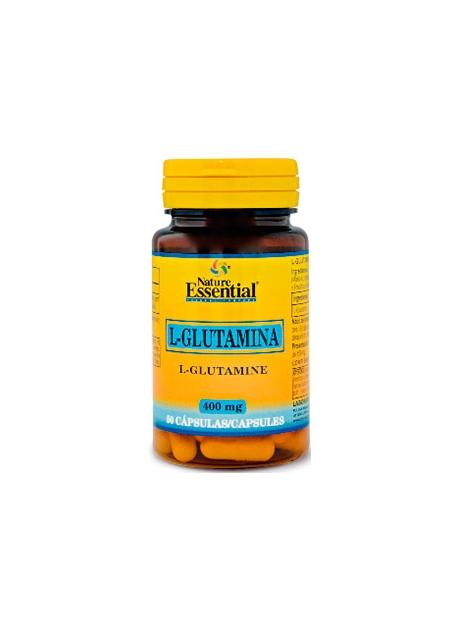 L-Glutamina 50 cápsulas 400 mg Nature Essential