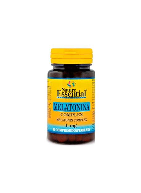Melatonina Complex 60 comprimidos Nature Essential