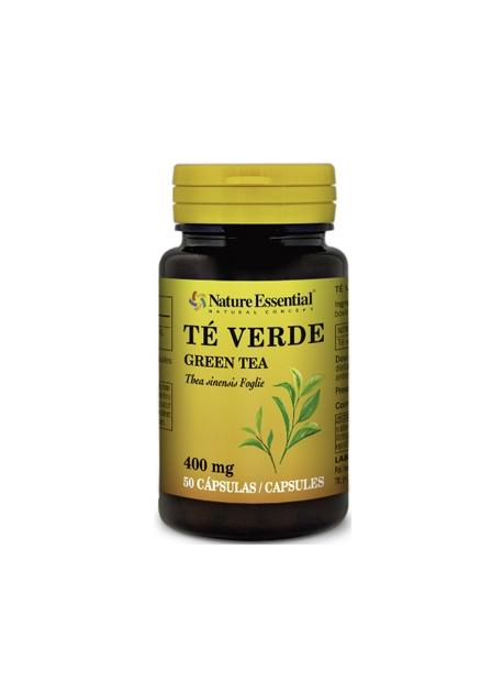 Té Verde 50 capsulas 400 mg Nature Essential