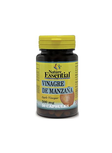 Vinagre de Manzana 50 capsulas 500 mg Nature Essential