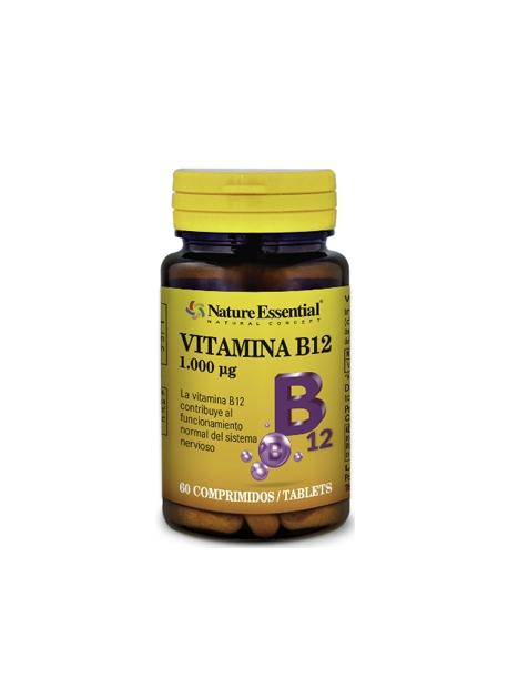 Vitamina B12 60 comprimidos 1000 mcg Nature Essential