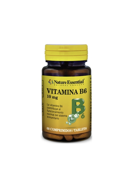 Vitamina B6 60 comprimidos 100 mg Nature Essential