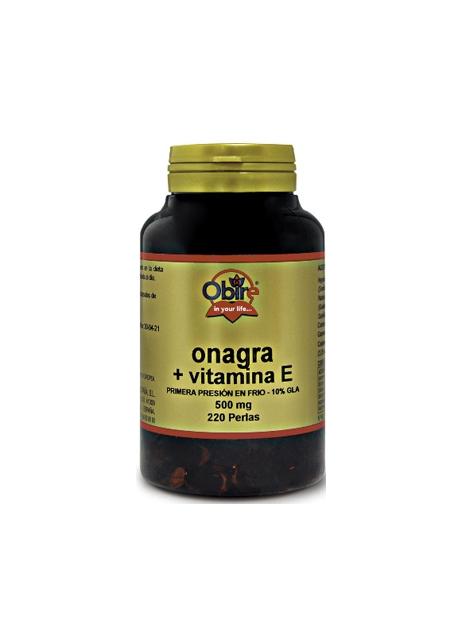 Aceite de Onagra 220 perlas 500 mg Obire