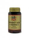 Chitosan + Piña + Vitamina C 100 capsulas 360 mg Obire