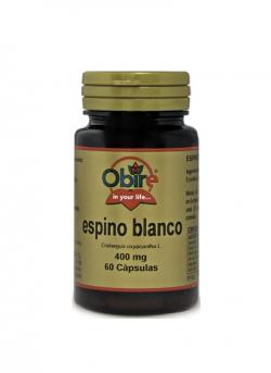 Espino Blanco 60 cápsulas 400 mg Obire