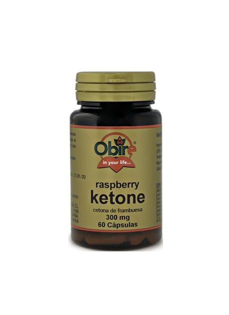 Raspberry Ketone 60 capsulas 300 mg Obire
