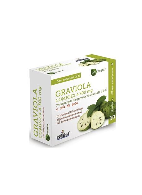 Graviola Complex 60 capsulas 4300 mg Nature Essential